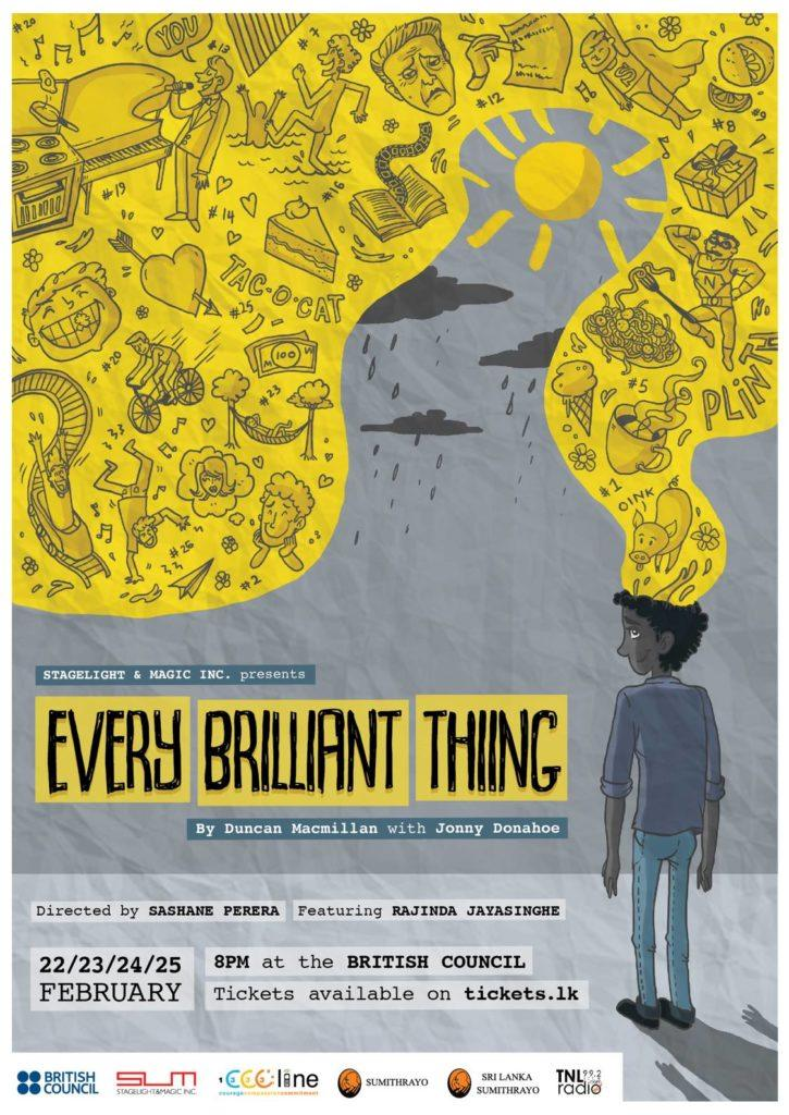 Every Brilliant Thing - StageLight&Magic