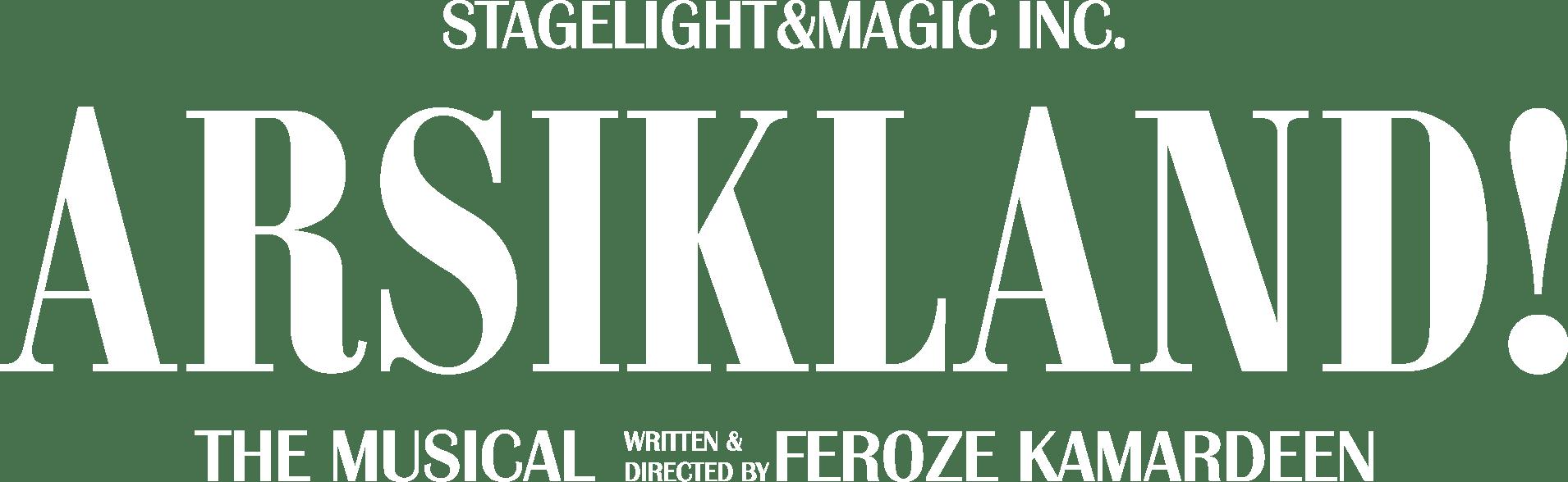 Arsikland Logo White